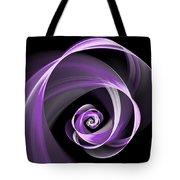 Purple Flirt Tote Bag