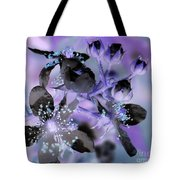 Purple Flower Abstract  2 Tote Bag