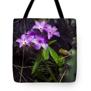 Purple Flower At Enchanted Rock Tote Bag