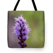 Purple Flower Tote Bag