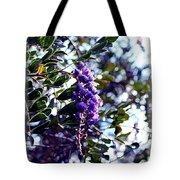 Purple Flowering Tree Tote Bag