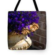 Purple Flowers Tote Bag