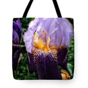 Purple Flowers In England Tote Bag by Doc Braham