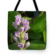 Purple Flowers In The Pantanal Tote Bag