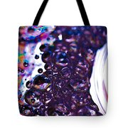 Purple Fusion Tote Bag