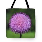 Purple Fuzz Tote Bag