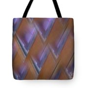 Purple Geometry - Abstract Tote Bag