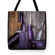 Purple Glass Tote Bag