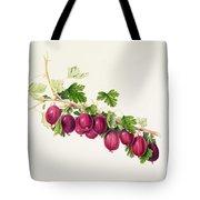 Purple Gooseberry Tote Bag
