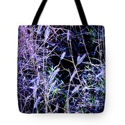 Purple Ground Cover Tote Bag