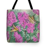 Purple Haze Cafe Tote Bag