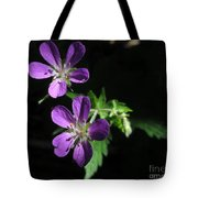 Purple Highlights Tote Bag