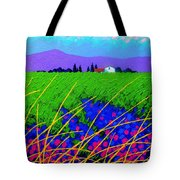 Purple Hills Tote Bag by John  Nolan