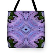 Purple Hydrangea Flower Abstract 2 Tote Bag