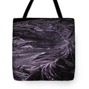 Purple Ice Tote Bag