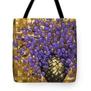 Purple In The Warm Glow Tote Bag