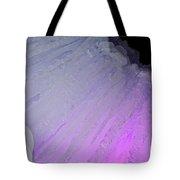 Purple Iris Ice Eye Tote Bag