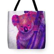 Purple Koala Tote Bag