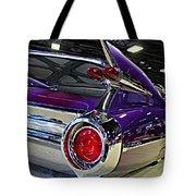 Purple Kustom Kadillac Tote Bag