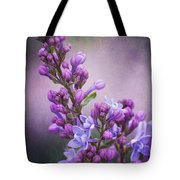 Purple Lilacs Tote Bag