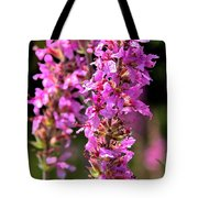 Purple Loosestrife Tall Tote Bag