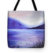 Purple Magic Tote Bag