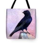 Purple Martin Tote Bag