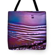 Purple Meterorite Tote Bag