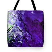 Purple Mood Tote Bag