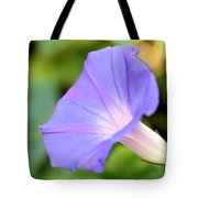 Purple Morning Glory Tote Bag