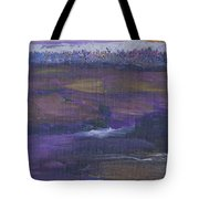 Purple Ocean Tote Bag