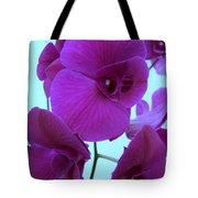 Purple Orchids 3 Tote Bag