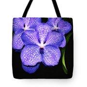 Purple Orchids - Flower Art By Sharon Cummings Tote Bag