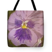 Purple Pansy 1 Tote Bag