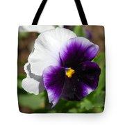 Purple Pansy Tote Bag