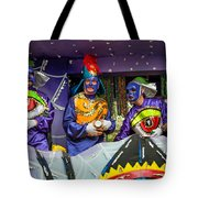 Purple Party People Tote Bag