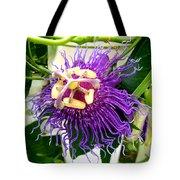 Purple Passion Flower Tote Bag