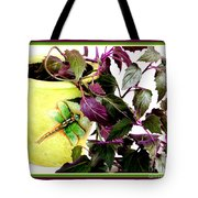 Purple Passion In The Sunshine Tote Bag
