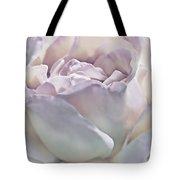 Purple Passion Pastel Rose Flower Tote Bag