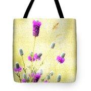 Purple Passion Texture Tote Bag