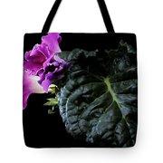Purple Plant Tote Bag
