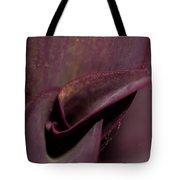 Purple Plant Macro Tote Bag