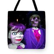 Purple Pose Tote Bag