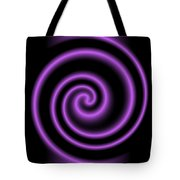 Purple Post Tote Bag