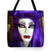 Purple Princess Tote Bag