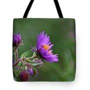 Purple Profiles Tote Bag