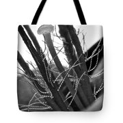 Purple Queen In Bw Tote Bag
