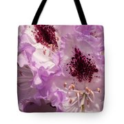 Purple Rhodo Tote Bag