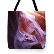Purple Sandstone Tote Bag