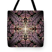 Purple Shield Tote Bag